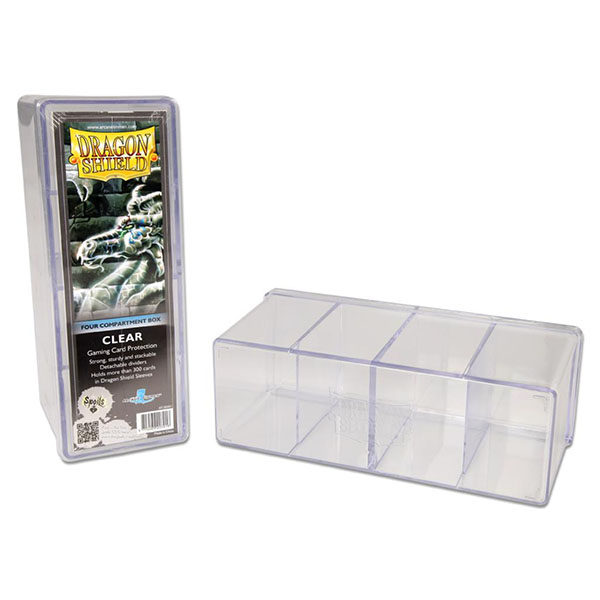 Dragon Shield Storage Box W 4 Compartments Devir Argentina